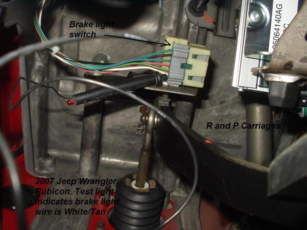 medium resolution of 2007 jeep commander rubicon we found the brake light