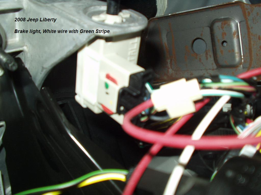2006 jeep liberty trailer wiring diagram 2003 ford explorer stereo 2008 brake controller install