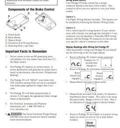 tekonsha sentinel brake controller wiring fantastic sentinel electric trailer brake controller wiring diagram rh  [ 783 x 1209 Pixel ]