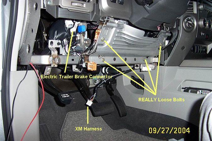 2013 Pathfinder Trailer Wire Harness Nissan Titan Brake Controller Install