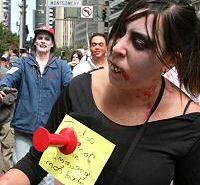 Zombie Walk in San Fran