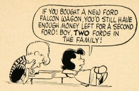 Schroeder and Lucy for the Ford Falcon