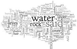 """""""The Waste Land"""" Wordle"""