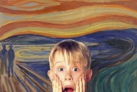 Mac Culkin in The Scream