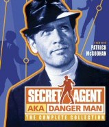 Secret Agent: AKA Danger Man DVD Cover Art