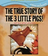 True Story of the 3 Little Pigs DVD
