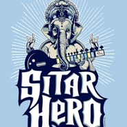 Sitar Hero XL shirt from Tshirt Bordello