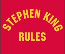 Stephen King Rules T-shirt Bordello