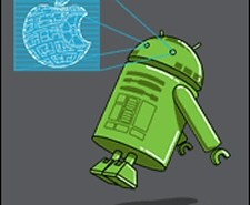 Android R2 shirt from Tshirt Bordello