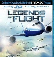 Legends of Flight 3D Blu-Ray