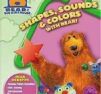 Bear in the Big Blue House: Shapes, Sounds and Colors DVD