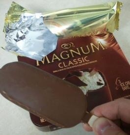 Magnum Classic Ice Cream Bar – Review – Needcoffee.com