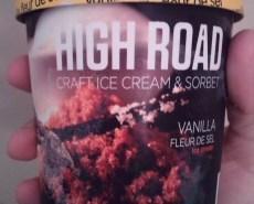 Vanilla Fleur de Sel Ice Cream by High Road Craft
