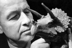 Ray Harryhausen and triceratops