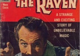 Vincent Price Raven comic
