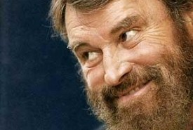 Brian Blessed grinning