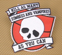 Intramural Zombie Hunting League patch