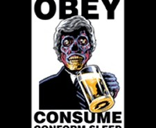 They Live Obey T-Shirt from Tshirt Bordello