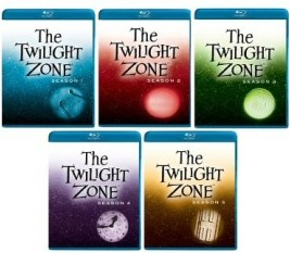 Twilight Zone 5-Season Blu-Ray Bundle