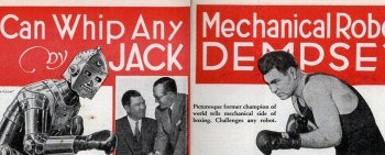 Jack Dempsey, Robot Fighter