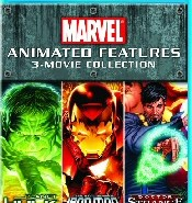Marvel Animated Features Collection Blu-Ray