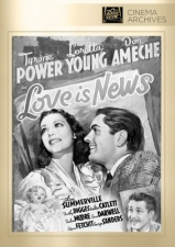 Love is News (Fox Cinema Archives) DVD