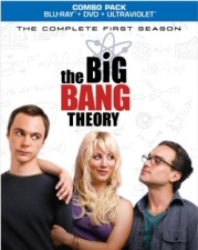 Big Bang Theory: Complete First Season Blu-Ray
