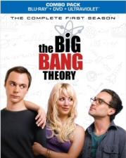 Big Bang Theory: Complete First Season Blu-Ray