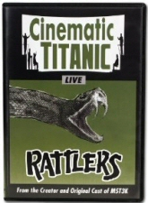 Cinematic Titanic Live: Rattlers DVD