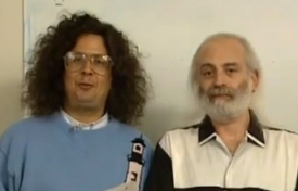 Mark Volman and Howard Kaylan from The Turtles