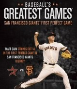 Baseballs Greatest Games: San Francisco Giants First Perfect Game DVD