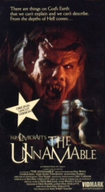 Unnamable VHS