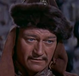 John Wayne as Genghis Khan