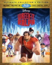 Wreck-It Ralph Ultimate Collectors Edition 3D Blu-Ray