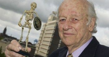 Ray Harryhausen and Friend