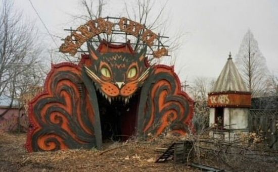 Abandoned New Orleans Amusement Park