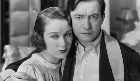 Fay Wray and Claude Rains in The Evil Mind/The Clairvoyant