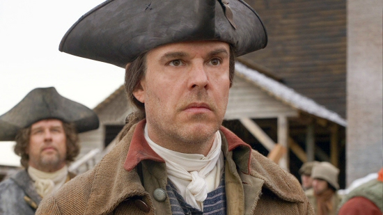 Danny Huston as Samuel Adams from the John Adams miniseries