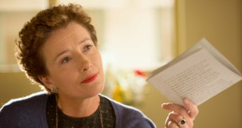 Emma Thompson as P.L. Travers in Saving Mr. Banks