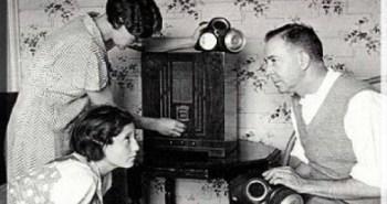 Gathered Round the Radio