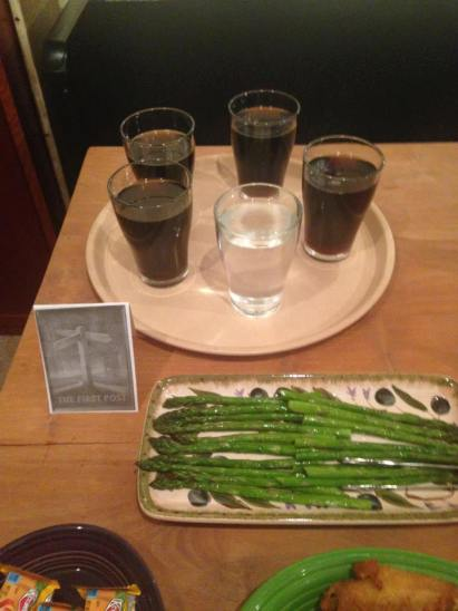 The First Post: ...and asparagus posts!