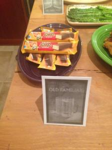 The Old Familiar: Keebler Fudge Sticks (old and familiar to a member of their family)
