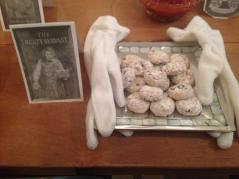 The Trusty Servant: dainty cookies served on a silver platter