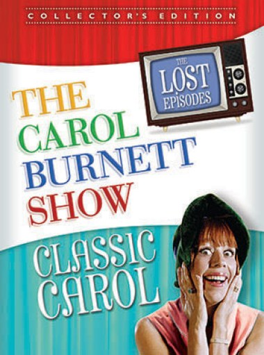 Carol Burnett Show Lost Episodes Classic Carol on DVD