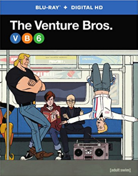 Ventures Bros Season 6 Blu-Ray