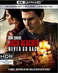 Jack Reacher Never Go Back 4K