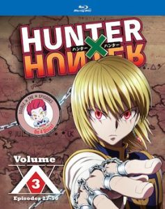 Hunter X Hunter Set 3 Blu-Ray