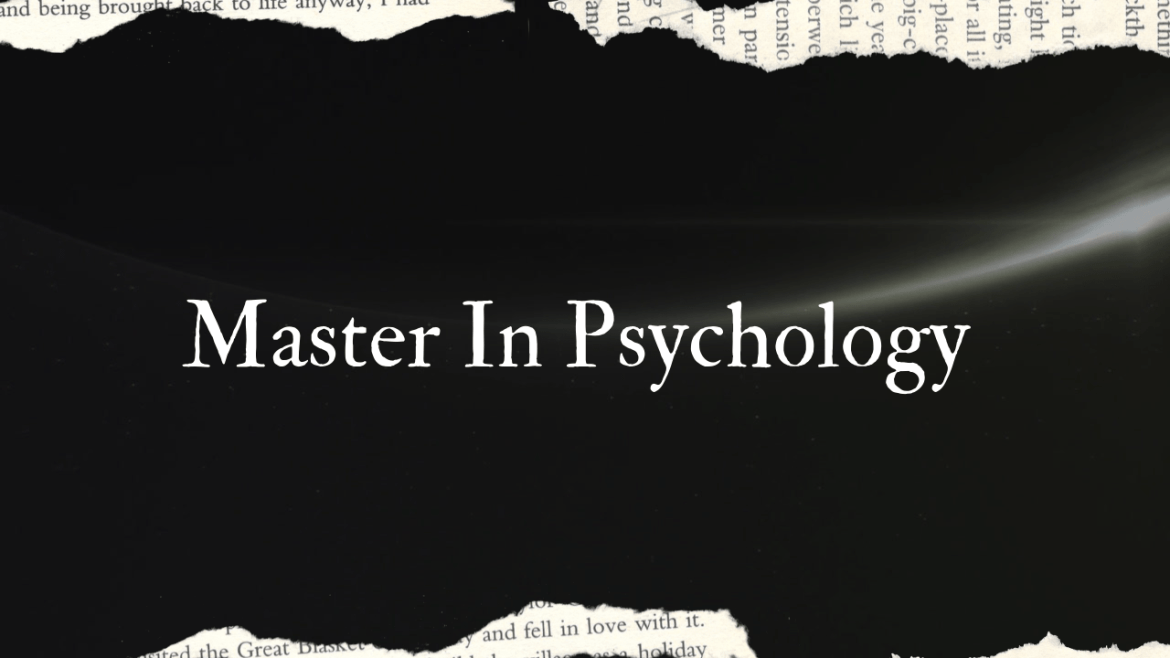 Master In Psychology