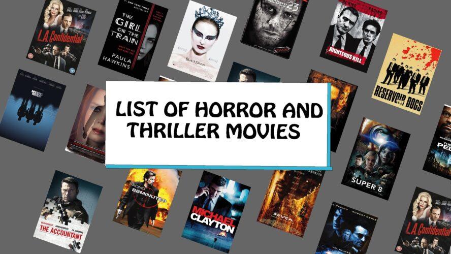 List Of Horror And Thriller Movies, needforlife, need for life, needforlife.info, best thriller movies, horror movies, Thriller Movies, top thriller movies