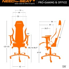 Ergonomic Chair Design Dimensions Browning Camp Maxnomic Pro Gaming And Office Shop Now Needforseat En